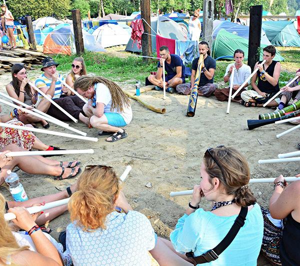Warsztaty gry na Didgeridoo
